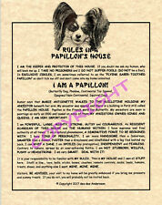 Rules In A Papillon's House