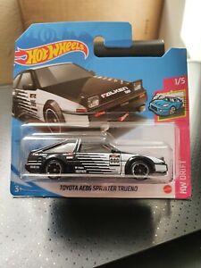 Hot Wheels 2021 Toyota AE86 Sprinter Trueno *31/250 HW Drift *1/5 GTC14 Short