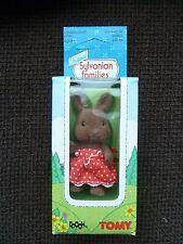 ORIGINALE VINTAGE Sylvanian Families Holly Wildwood Ref No. 2865C TOMY-Epoch 1985