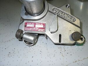 Used Dynabrade 14200 - Dynangle Abrasive Belt Tool .For Parts or Repair