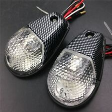 Turn signal lights Fit Carbon sportbikes Flush Mount Motorcycle Blinker Lights