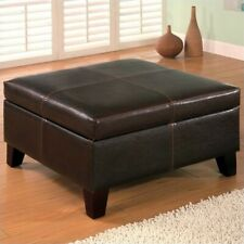 Pleasant Leather Coffee Table Products For Sale Ebay Machost Co Dining Chair Design Ideas Machostcouk
