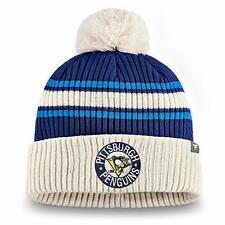 Mens NHL Hockey True Classic Cuffed Pom Toque Beanie Knit Hat Cap Multiple Teams