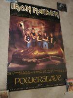 Iron Maiden Powerslave promo poster 24x36 ULTRA RARE
