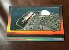 AERIAL VIEW OVER THE QUEEN MARY AND SPRUCE GOOSE NORTH HOLLYWOOD UNUSED