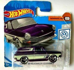 VW Squareback '69 - Hot Wheels Serie Volkswagen 4/10 2019.