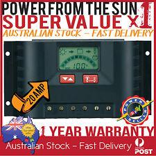 SUNTRANS 20A SOLAR CONTROLLER / REGULATOR UNIT CARAVAN CAMPING OFF GRID 4WD