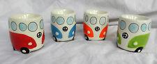 VW Volkswagen Camper Van Ceramic Egg Cup - Assorted Colours - BNWT (B)