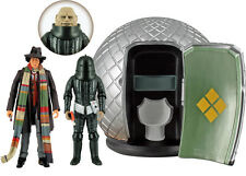 """NEW 4th Dr Doctor Who 5"""" Action Figure The Sontaran Experiment Collector's Set"""