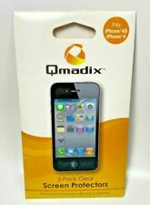 Qmadix Screen Protector for Apple Iphone 4/4S 3-Pack - Clear