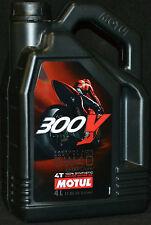 4 Liter Motul 300 V 4T FL Factory Line 5W-40 Motorradöl 5W40 double ester