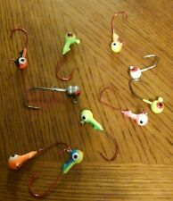 Roundhead Jig Heads 1/8oz Mixed colors & styles See Pics