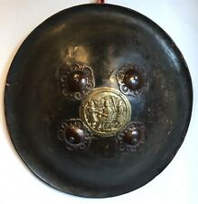 BOUCLIER EN CUIR INDO PERSAN XIXe SIECLE INDO PERSIAN LEATHER SHIELD 19th CENT
