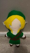 The Legend Of Zelda Link Inspired Plush Chibi Kawaii Cute