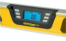 Stanley Digital- Neigungsmesser digitale Wasserwaage Länge 60 cm, 0-42-065
