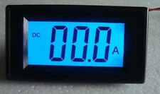 Blue DC0-200mA  LCD Digital AMP Panel Meter New
