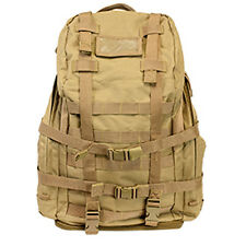 Ncstar CB3DB2920 Tactical MOLLE 3 Day Mission Assault Hiking Patrol Backpack TAN