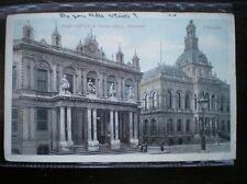 POSTCARD IPSWICH TOWN HALL 1900'S