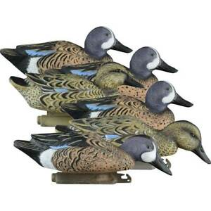 Higdon Standard Blue Winged Teal Foam Filled Duck Decoys