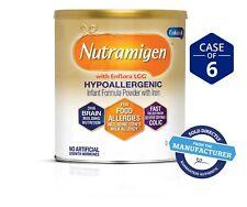 6 Cans Nutramigen Lot Of Infant Formula W Enflora 12.6 Oz. Free Shipping!