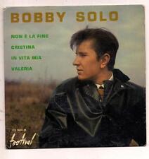 FRENCH EP BOBBY SOLO  NON E LA FINE