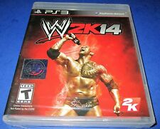 WWE 2K14 Sony PlayStation 3 *Factory Sealed! *Free Shipping!