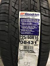 4 New 225 60 16 BFGoodrich Advantage T/A Tires