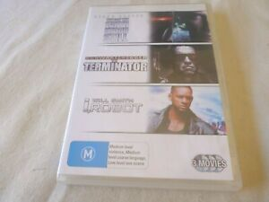 The Day the Earth Stood Still / The Terminator / I Robot (DVD, 2008) Region 4