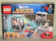 Lego 76009 SUPERMAN BLACK ZERO ESCAPE Man of Steel DC Universe Superheroes