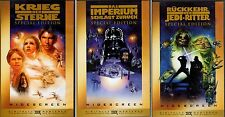 VHS-Star Wars-Krieg der Sterne-Imperium schlägt zurück-Rückkehr der Jedi Ritter