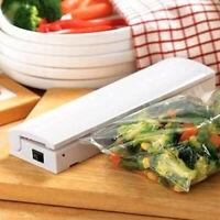 US_ Food Vacuum Sealer Saver Machine Home Sealing System Meal Fresh Saver Packin