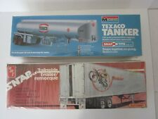 Trailmobile & Fruehauf Truck Trailer Kits by Amt & Monogram Team Suzuki & Harley