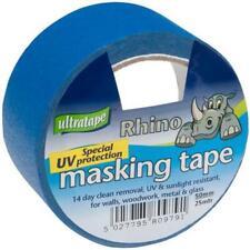 Blue UV Resistant Masking Tape, 50mm x 25m - ULTRATAPE