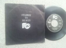 FAR CORPORATION PAGE/PLANT STAIRWAY TO HEAVEN  GERMAN 7 INCH VINYL 1985