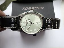 Watch Torgoen Swiss T28102  With Box and Two Straps From 2013 Hard to Find V/G/C