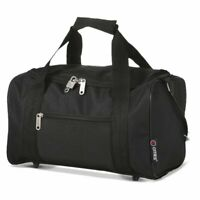 5 Cities Small Black Cabin Flight Bag/Holdall Ryanair 35cm x 20cm x 20cm