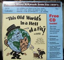 Blues Images Calendar 2010 with 1920s blues Cd Paramount Race Records Art