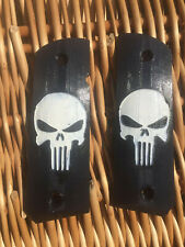 1911 Punisher logo Hand Grips 3d printed Airsoft