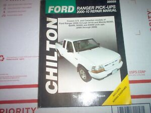 Repair Manuals Literature For 2004 Ford Ranger For Sale Ebay