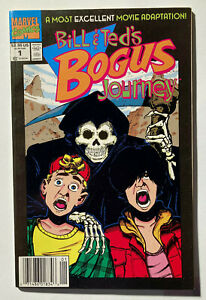 Bill & Ted's Bogus Journey #1 - September 1991 - Newsstand - Marvel - Rare - NM