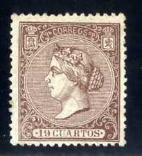 SELLOS DE ESPAÑA 1866 Nº 83 ISABEL II NUEVO Certificado Graus