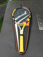 Babolat AeroPro Drive Grip 4 , 4 1/2  with case cover.