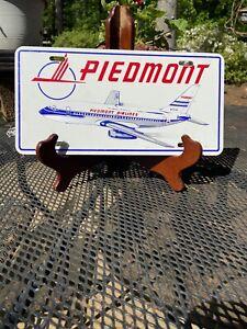 Piedmont Airline License Plate Plane Number N734N