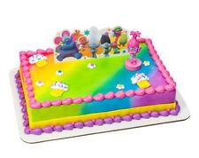 Trolls Movie figurine cake decoration Decoset cake topper set toys