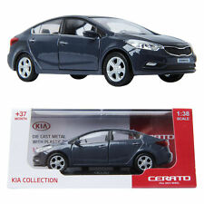 PINO B&D KIA CERATO 1:38 Die-cast Miniature Display car prussian blue Color