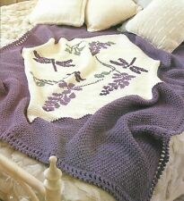 Dragonfly Afghan Crochet Pattern Instructions