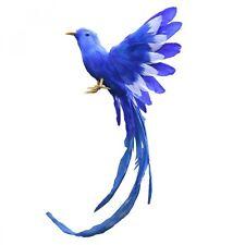New Artificial Bird Feathers Plastic Figurine Landscape Ornament Garden Decor