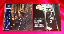 Rolling Stones December's Children SHM MINI LP CD JAPAN + BONUS COVER