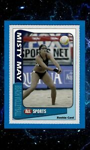 MISTY MAY TREANOR 2003 ALL SPORTS RARE ROOKIE CARD BEACH VOLLEYBALL OLYMPICS