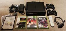 Microsoft Xbox 360 Elite Konsole 120GB + 2 Wireless Controller + 3 Spiele + Zub.